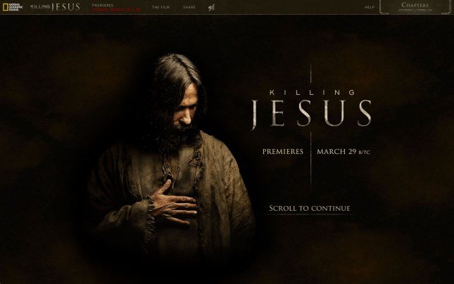 Killing Jesus Homepage